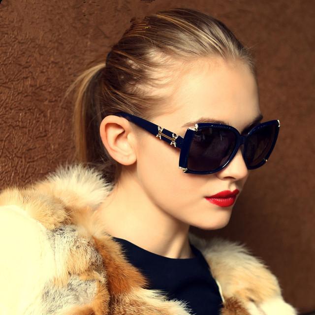 Venda Quente Italiano Marca de moda Designer de Óculos De Sol Das Mulheres Design Clássico Polarizada Óculos de Sol Oculos Gafas