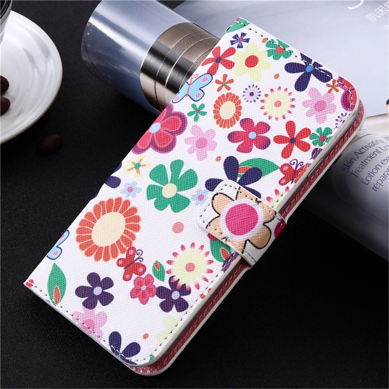 Cartoon Wallet Case For LG W10 W30 Q70 K50s Fashion PU Leather Cover For Meizu M10 Case Phone Bag