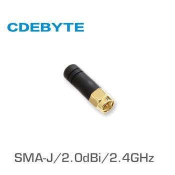TX2400-JZ-3 2.4GHz SMA-J interface 50 Ohm impedance less than 1.5 SWR 2.0dBi gain high-quality omnidirectional antenna tx490 jz 5 490mhz sma j interface 50 ohm impedance less than 1 5 swr 2 0dbi gain high quality omnidirectional antenna