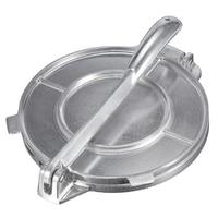 Складной Tortilla Maker пресс сверхпрочный алюминиевый пресс для фарша приспособления для выпекания инструменты Инструменты для пирога серебрян...