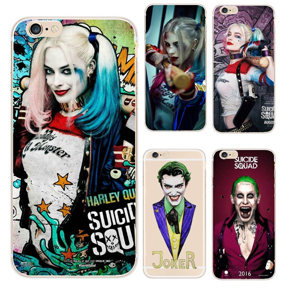 coque iphone 6 joker suicide squad