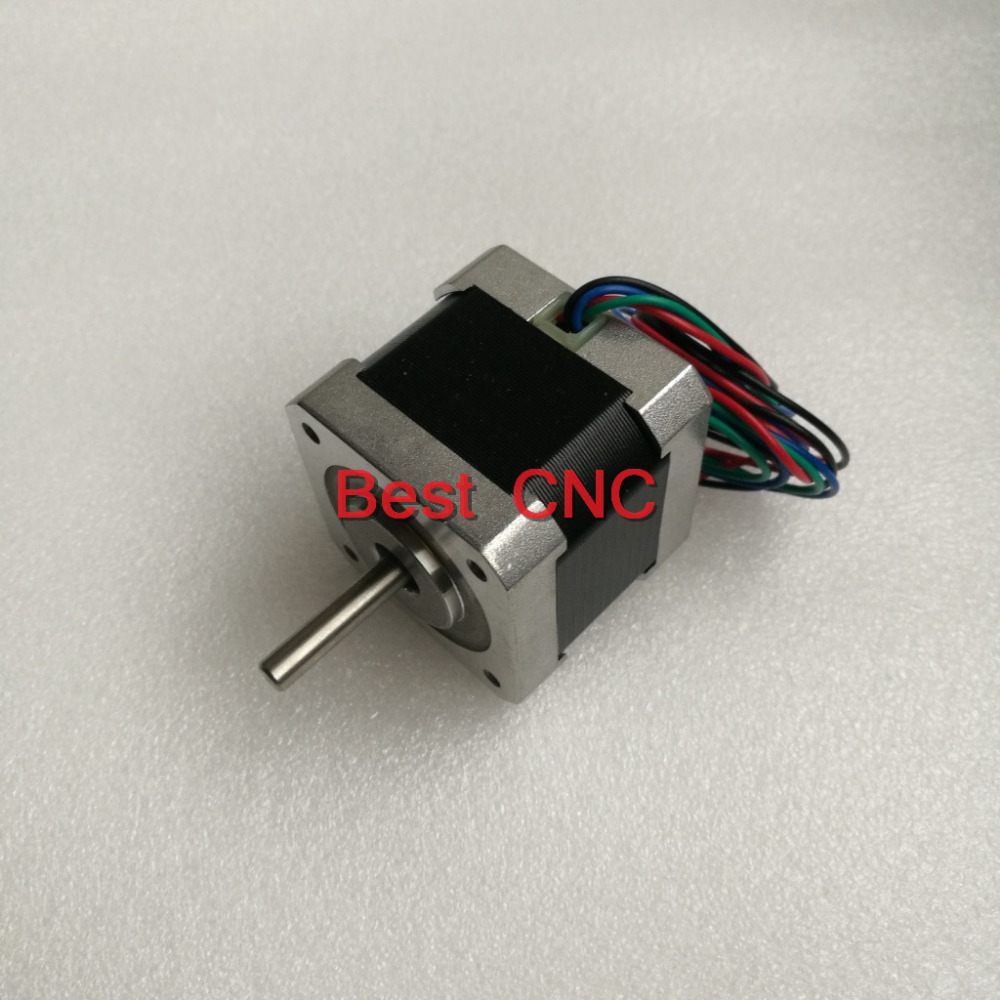 free shipping 4-lead Nema17 Stepper Motor 42 motor NEMA 17 motor Nema 17 Stepper Motor 09 42mm 168A use for 3D printer and CNC