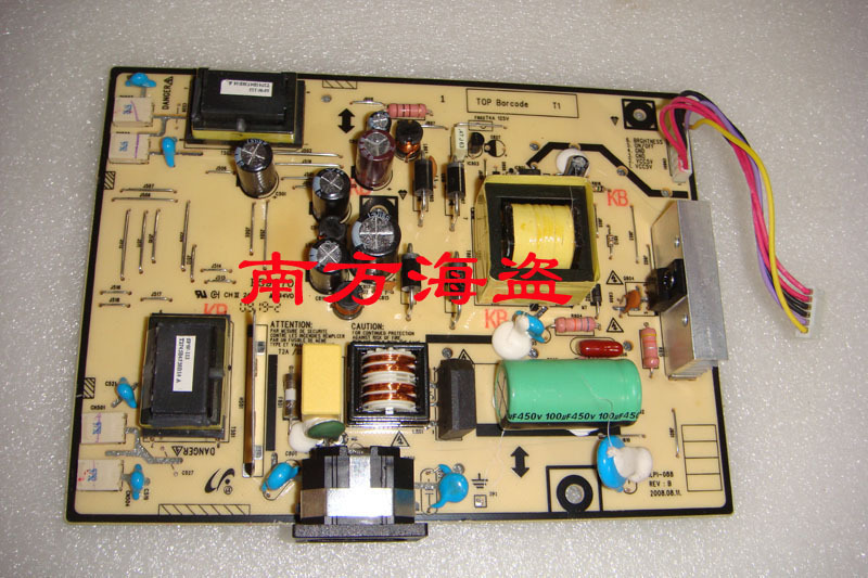 Free Shipping>Original ILPI-088 491451400100R 943NW pressure plate 943NWPLUS Power Board-100% Tested Working free shipping 100% tested working v193w ilpi 077 v193w high voltage power supply board plate 492031400100r