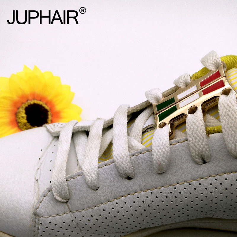JUP 1 Pair Zinc Alloy Laces Buckle Magnetic Shoes Buckles Casual Sneaker Magnetic Laces Closure Buckles No-Tie Shoelaces Buckles