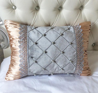 #1147 New Europe princess room hand sewing pearl ornament beauty cushion cover room sofa Dec wholesale