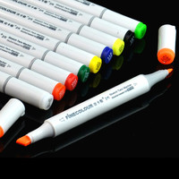 FINECOLOUR Oil Pen Mark Pen 2nd Generation 36 Color Professional Pen