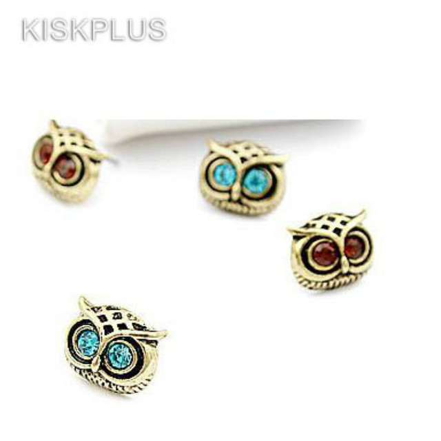 Owl Earring Hot Cute Lovely Eye Earrings Animal Fashion Personality Vintage