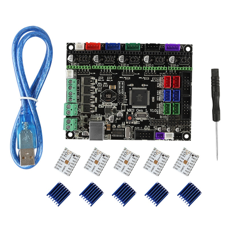 3D Printer Motherboard Mks Gen L V1 0 Tmc2209V2 0x5 Ultra Quiet Drive Kit Audio Equipment