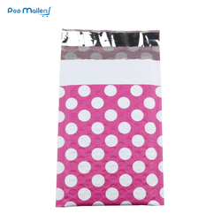 10pcs 130 180mm creative design poly bubble mailers 4x8 inches padded envelopes pink dot.jpg 250x250