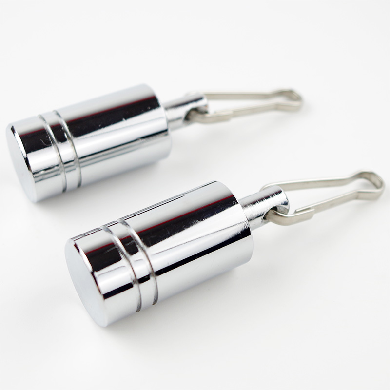 4.4oz Chrome Ball Weights Cock And Ball Stretching Accessoriess Parachute Ball Stretcher Pleasures Extreme CBT Play Sex Games