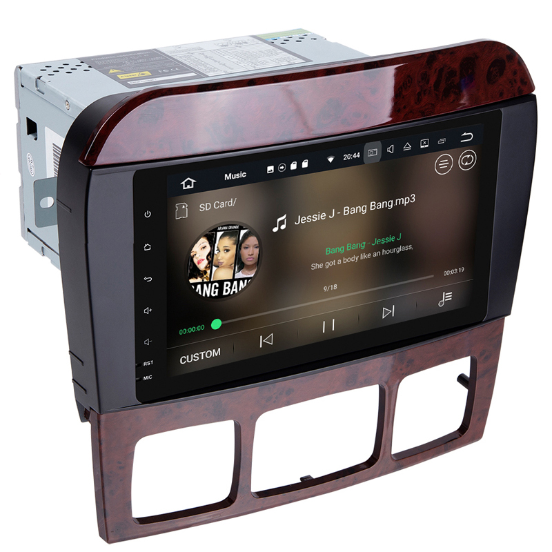 Quad Core Android 7.1 Car DVD Multimedia Player for Benz S Class W220 S280 S320 S350 S400 S430 S500 1998-2005 Radio WiFi BT GPS