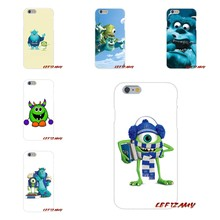 For Sony Xperia M2 M4 M5 E3 XA Aqua Z Z1 Z2 Z3 Z5 compact LG K4 7 8 10 V20 V30 2017 Flip Style Cute Monsters Movie Designer Case(China)