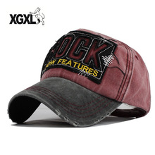 Drop Shipping 2018 High Quality Letter ROCK Embroidery Cotton Baseball Cap For Men Women Gorras Snapback Outdoor Sport Sun Hat