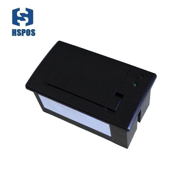 58 мм Модуль ttl последовательный порт встроенный панель терминал тепловой чековый принтер для atm печати для банка авто машина мини 12 В