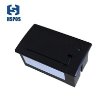 58mm module ttl serial Port Embedded Panel terminal Thermal Receipt Printer  for atm print bank auto machine mini 12V