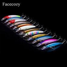 Facecozy 1Pc זוהר Bionic פיתיון דיג פתיונות עם שני נשר טופר ווים מלאכותי פיתיון 8 11CM CrankBait שיעור גבוה מינאו