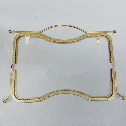 Handle Forma Metal Frame Bolsa Quadro Bolsa