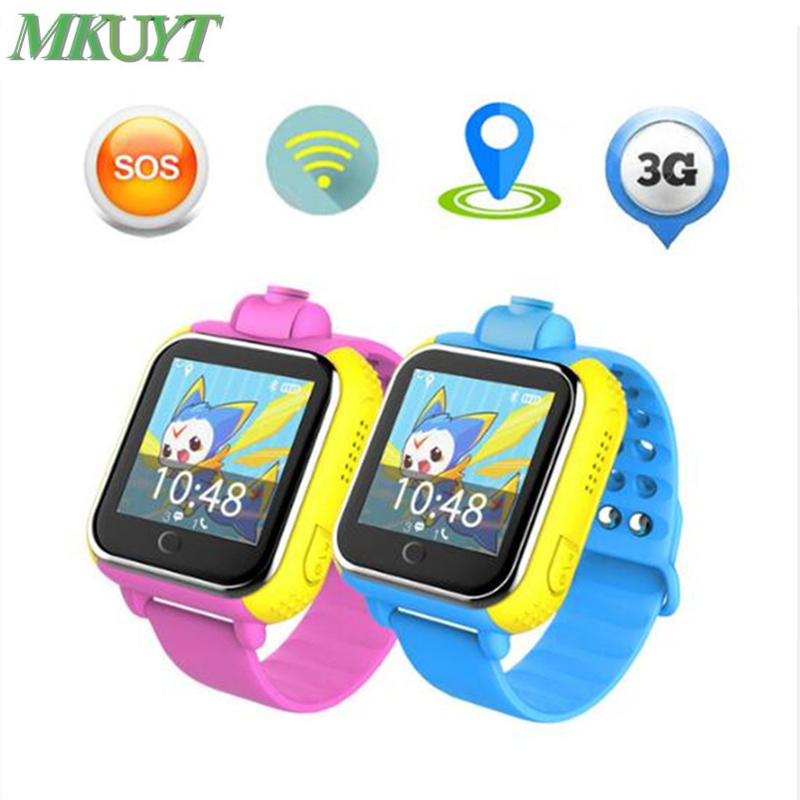 Q730 Kids 3G Smart Watch With Camera GSM GPRS WIFI GPS Locator Tracker and SIM Card Slot Wristwatch for Android IOS PK Q90 Q50