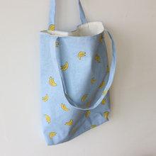 Женская Цветочная сумка из хлопка и льна вместительная Повседневная