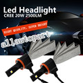 1 Set 2015 NEW H11 40W 5000LM LED Headlight Kit Cool White 6000K Driving Lamp LED Headlamp Fog Lamp Bulbs with Copper Belt