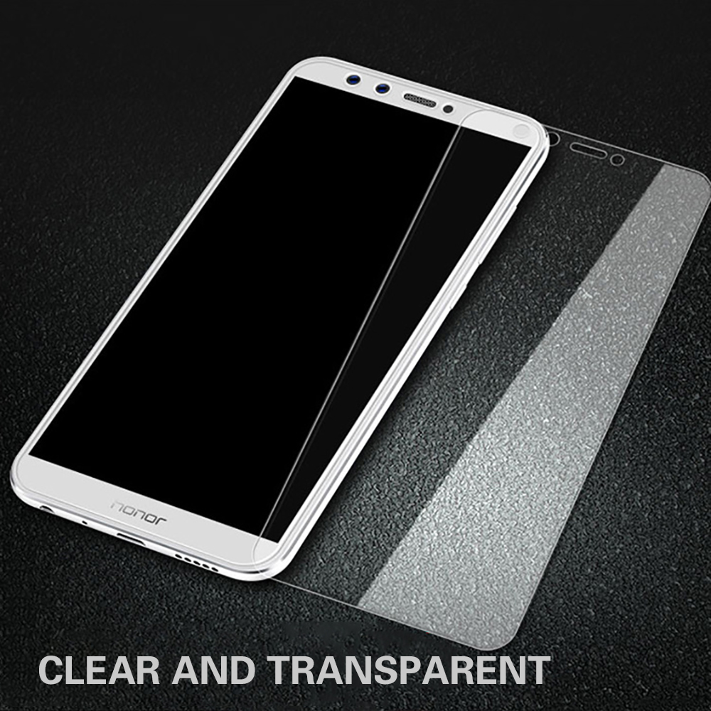 Eqvvol Full Cover Purple Light Tempered Glass For Huawei Honor 8 9 10 8X  MAX Play Screen Protector For Honor Note 10 8 V10 Film