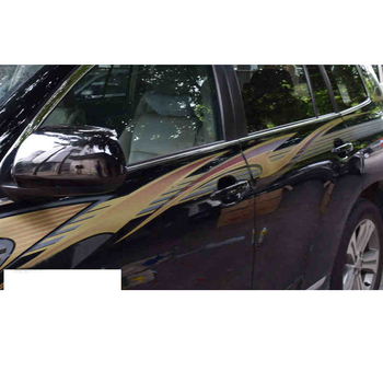 lsrtw2017 wearable long life PVC car body sticker for toyota highlander 2007 2008 2009 2010 2011 2012 2013 XU40