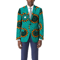 Personal Tailor Dashiki Suit African Garish Colors Print Blazer Mens Limited Pattern African Suit Of Africa