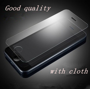 High quality Guard LCD Clear Front Screen Protector Film For iPhone 5 5G 5S 5C SE i5  Wholesales Free Shipping PY