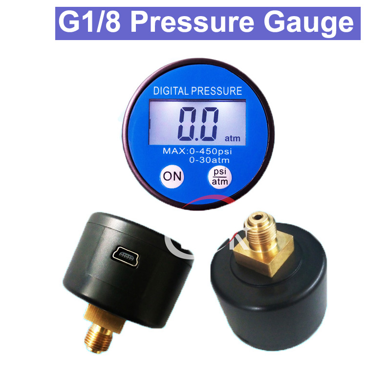 SP LCD digital pressure gauge/ Battery Power Supply Medical Equipment G1/8 Digital Pressure Gauge chicd hot sale skinny jeans woman autumn new pencil jeans women fashion slim blue jeans mid waist denim pants plus size xp135