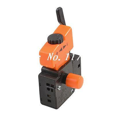 Electric Drill 5E4 Lock On Speed Control Trigger Switch AC 250V 6A FA2-6/1BEK