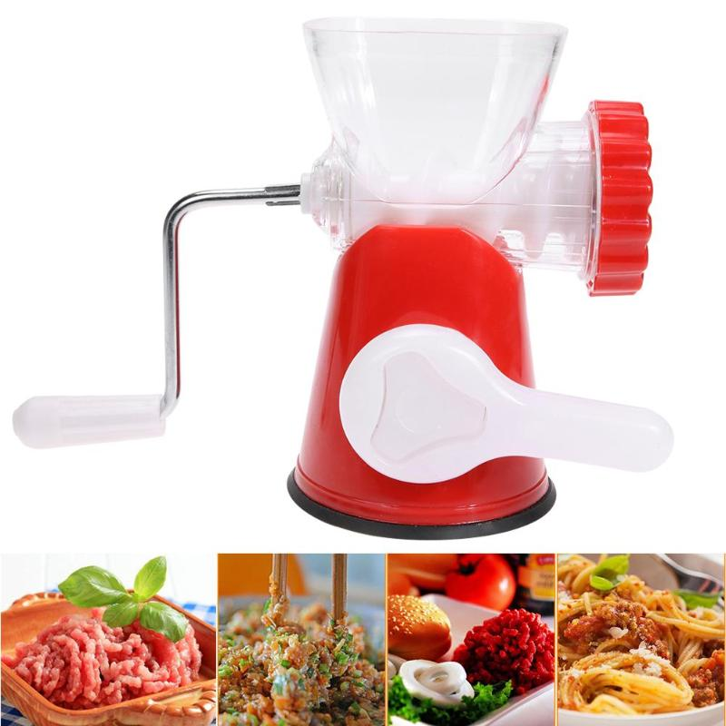 все цены на Vegetable Food Chopper Kitchen Manual Onion Nut Chopper Meat Grinder Stainless Steel Blade Grind Household Cooking Machine