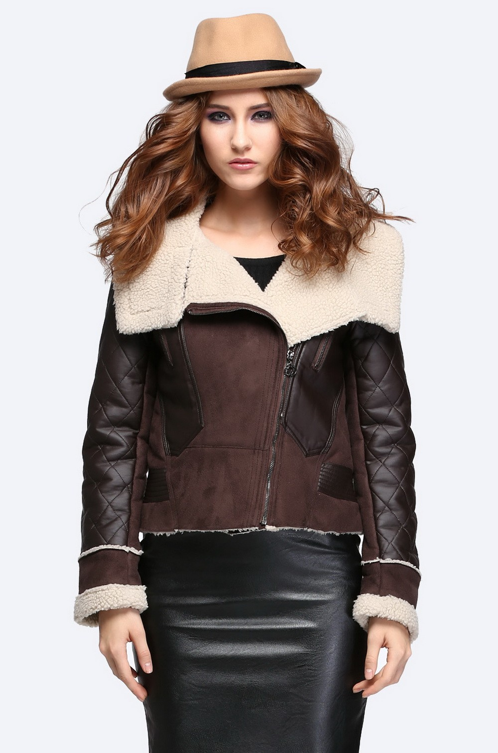 Compare Prices on Vintage Shearling Jacket- Online Shopping/Buy ...