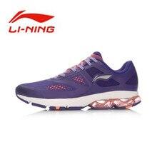 Li-Ning original Breathable Running Series shock absorption Light Weight Female Sport Sneakers ARHL092