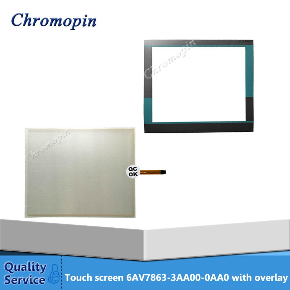 Touch panel screen for 6AV7863-3AA00-0AA0 6AV7 863-3AA00-0AA0 with protective filmTouch panel screen for 6AV7863-3AA00-0AA0 6AV7 863-3AA00-0AA0 with protective film