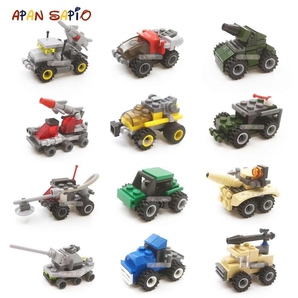ビルディングブロックミニサイズ市車シリーズフィギュアレンガモデル教育と互換性 legoe おもちゃ子供の誕生日ギフト