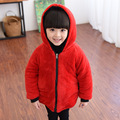 The New 2016 Child Personality Fluffy Cotton Quilted Jacket Female Baby Winter Jackets Children Of Children's Wear