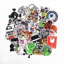 300 Stücke Aufkleber Mix Stil Lustige Cartoon Aufkleber Kühlschrank Doodle Snowboard Gepäck Decor Jdm Marke Auto Bike Moto Spielzeug