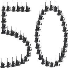 100 Uds x Baofeng BF 888S UHF 400 470MHz 5W CTCSS Dual Banda dos de jamón Walkie Talkie Radio de transceptor bf888s 1500MAh batería de la batería