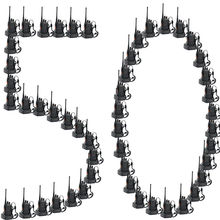 100 pcs x Baofeng BF 888S UHF 400 470 MHz 5 W CTCSS แบบคู่   way Ham เครื่องรับวิทยุวิทยุ bf888s 1500 MAh แบตเตอรี่
