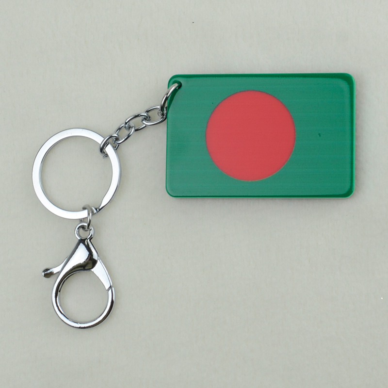 Anniyo Bangladesh National Flag Key Chains Jewelry Bengali ...