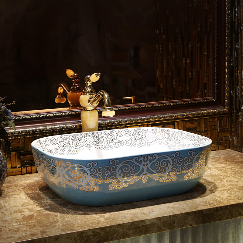 Luxurious oval porcelain bathroom vanity bathroom sink bowl countertop oval Ceramic wash basin bathroom sink