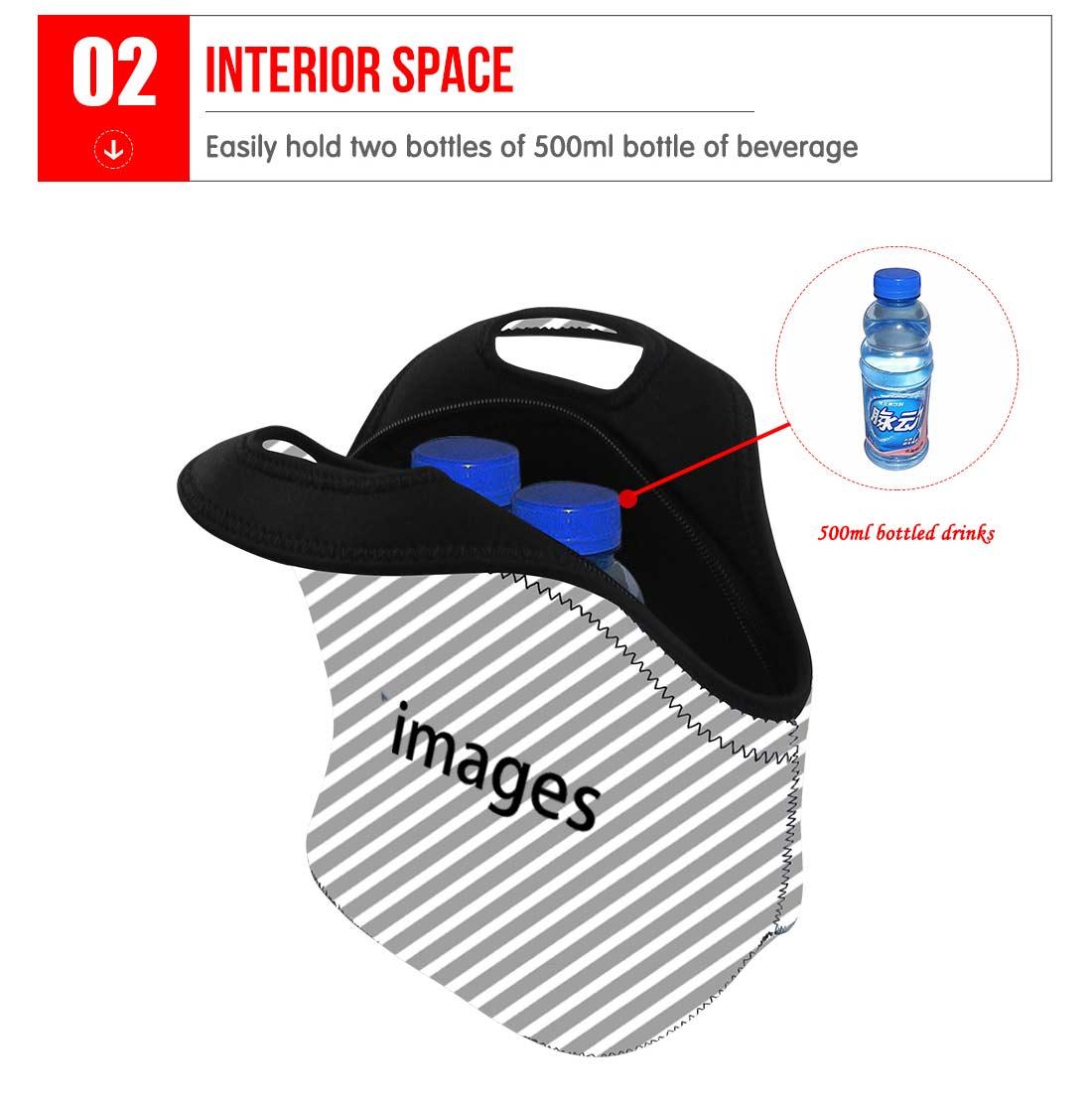 FORUDESIGNS 3D Foot Ball Lunch Bag For Women Kids Men Cooler Lunch Box Travel Handbag Waterproof Thermal Food Picnic Bags Pack