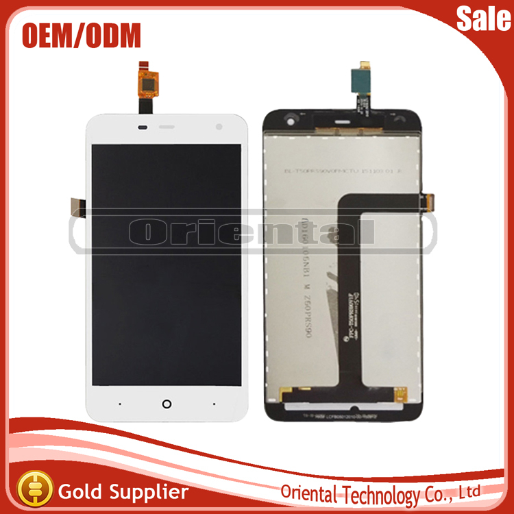 Подробнее о Black/White 5 inch For ZTE Blade L4 Pro LCD Display + Touch Screen Digitizer Assembly Replacement + Free shipping white black for zte blade a610 td lte lcd display touch screen digitizer assembly replacement free shipping