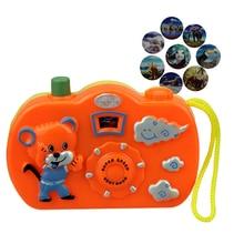 Детский Светильник, проекционная камера, подарки, детские развивающие игрушки для детей, новорожденных, мультяшная Милая цифровая камера, игрушка, декор для детской комнаты