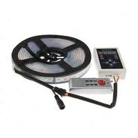 DC12V 5m RGB LED strip Light smart 1903 IC 5050 SMD RGB LED pixels tape addressable Digital IP67 Waterproof + RF Remote Control