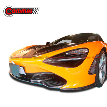 COMMAS  Carbon Fiber Front Bumper Angle For 720s Carbon Fiber Front Lip Body Kit Car Modification Accessories Car Styling