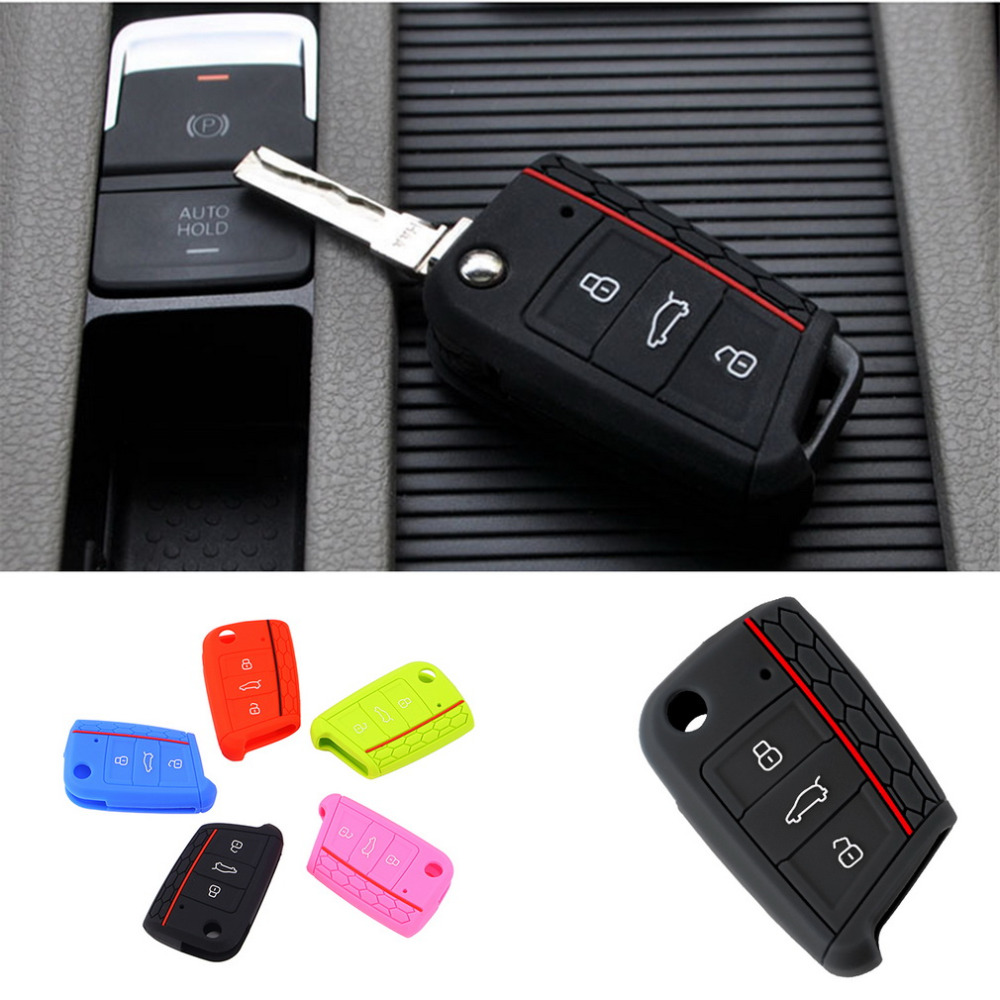 Car Accessories Key Case Key Bag Key Cover For Volkswagen for VW Golf 7 mk7 for