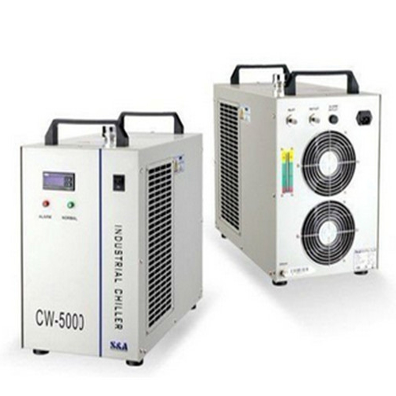 1pc 220V CW 5000AG laser engraving tube water chiller CNC water cooling machine industrial water chiller