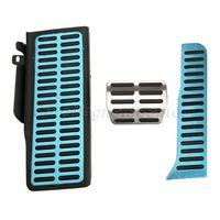 Xe Styling Footrest Pedal + Phanh Pedal + Nhiên Liệu Pedal Bằng Thép Không Gỉ & Non-Slip Cao Su Đồ Đạc Magotan/CC/Passat/Superb/Sharan