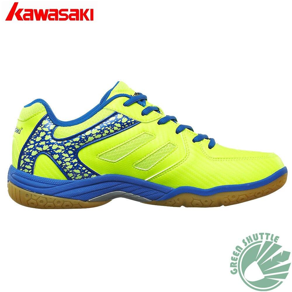 Prix pour 2017 d'origine kawasaki badminton shoes hommes et femmes zapatillas deportivas anti-glissante respirant pour amant